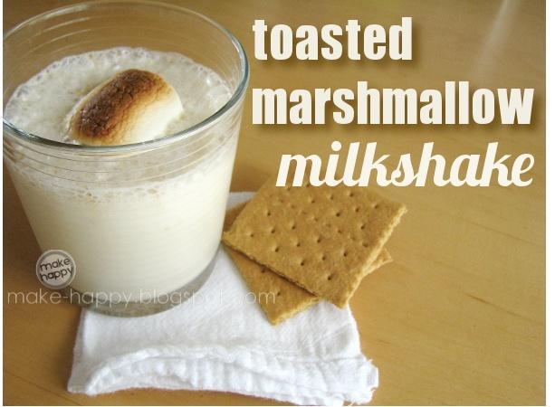 Toasted marshmallow milkshake | Ahhh SWEEEET! Dessert nummys :) | Pin ...