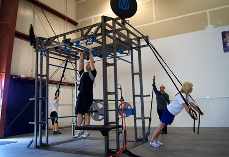 Jungle gym diy crossfit fitness pinterest for Diy jungle gym ideas