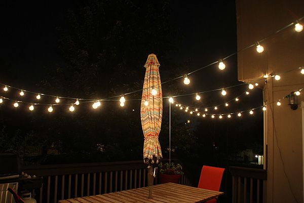 Hanging Outdoor String Lights On A Deck 2017 - 2018 Best Cars Reviews