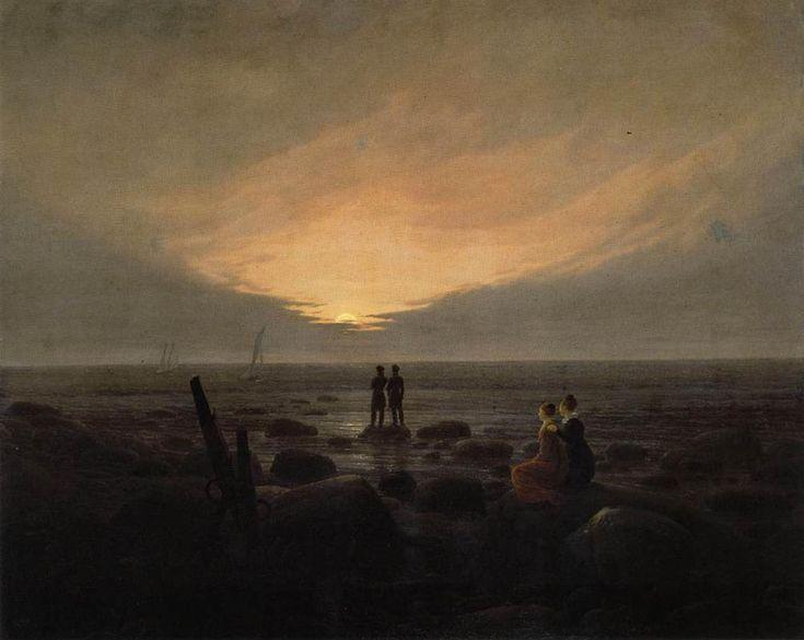 Caspar David Friedrich - Moonrise by the Sea