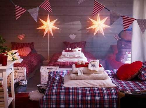 touch christmas every room