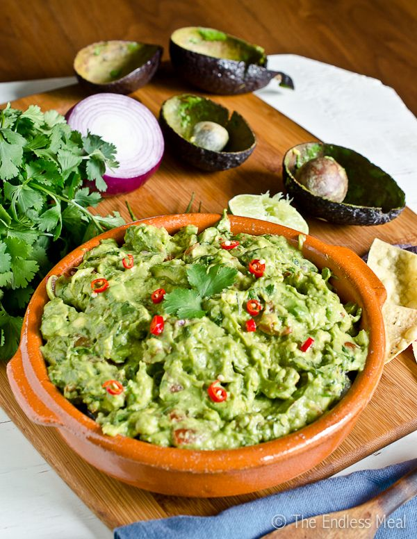 Smoky Chipotle Guacamole | Soßen & Co. | Pinterest