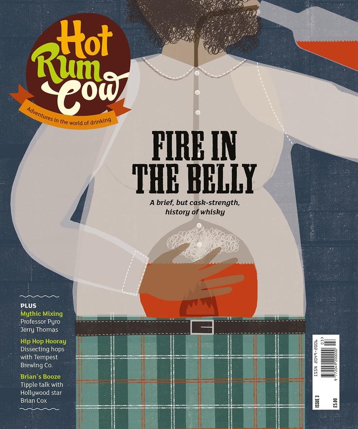 Hot Rum Cow magazine, issue 3 | MAG DESIGN-LAYOUT | Pinterest