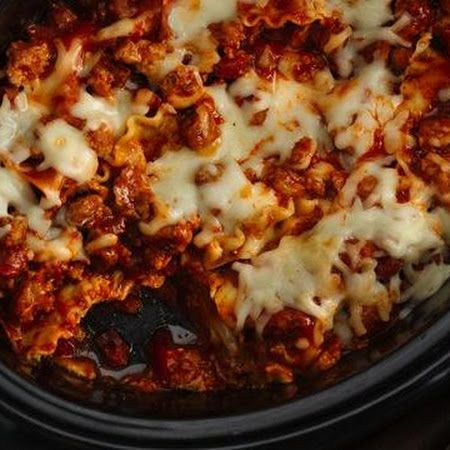 Slow Cooker Lasagna | Fat & Happy | Pinterest