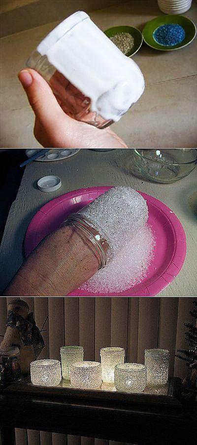 Солевой подсвечник своими руками