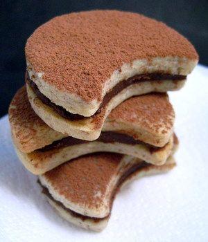Chocolate Almond Cream Sandwich Cookies | Desserts / Cookies | Pinter ...
