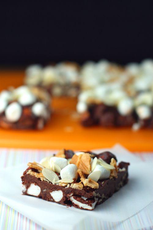 Foodista Cookbook: No Bake Frozen S'more Bars