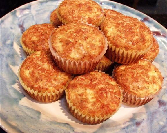 Sun-dried tomato and cottage cheese muffins. Low-carb recipe from Rose ...