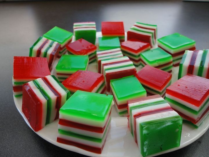 Christmas Finger Jello Recipes — Dishmaps