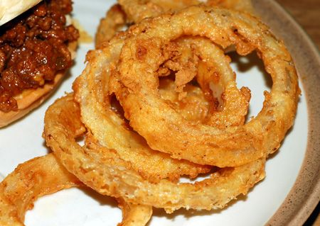 Buttermilk Onion Rings | Good Food | Pinterest