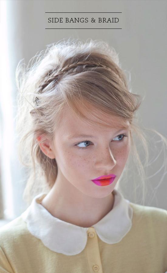 旬の前髪は「ふんわり・斜め」が合言葉♡おしゃれな流し前髪の作り方