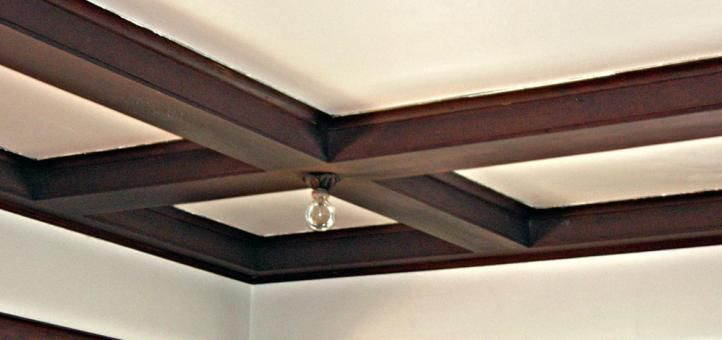 Box beam ceiling arts and crafts pinterest for Box beam ceiling