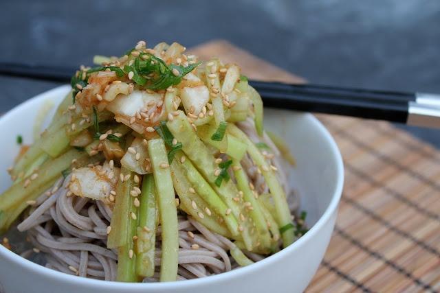 Korean Cold Soba Noodles