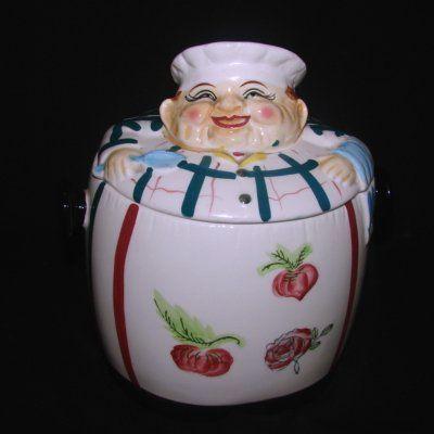 Vintage Chadwick Jolly Chef Cookie Jar | Cookie Jars | Pinterest