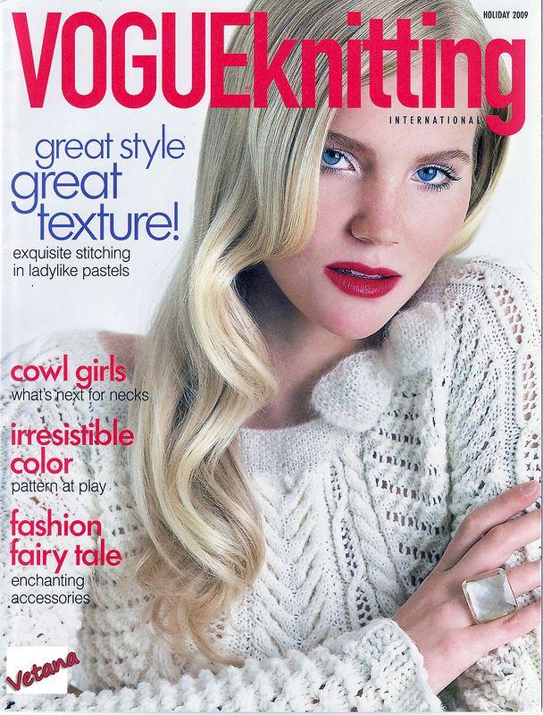 Vogue Knitting : Vogue Knitting. Holiday 2009 Knitting Magazines Pinterest