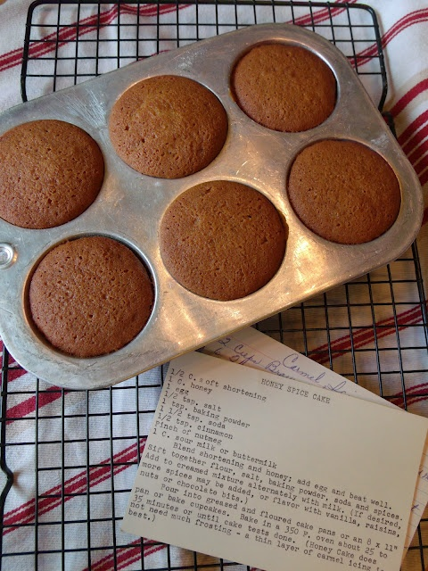 Honey Spice Cake & Caramel Icing   Food...Yum!   Pinterest