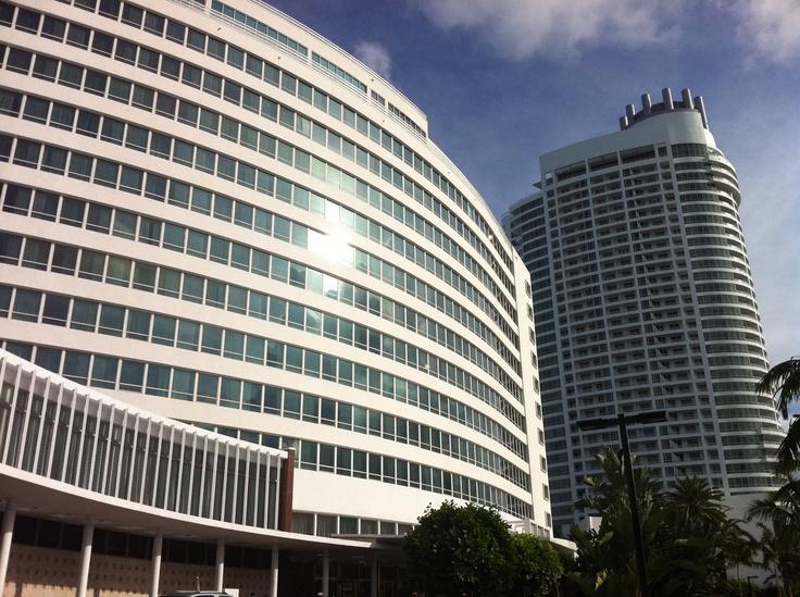 Fontainebleau Hotel, Miami Beach, September 2011.