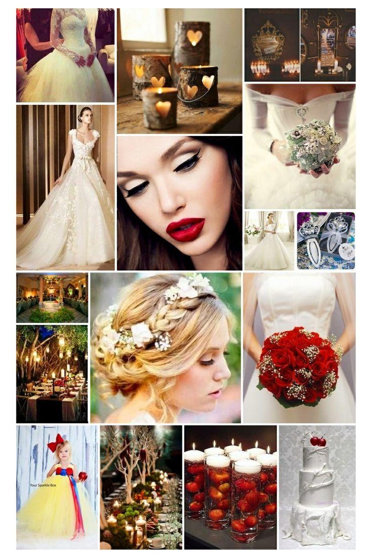 Snow Themed Wedding