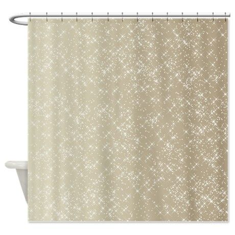 Rust Colored Curtain Panels Champagne Gold Shower Curtain