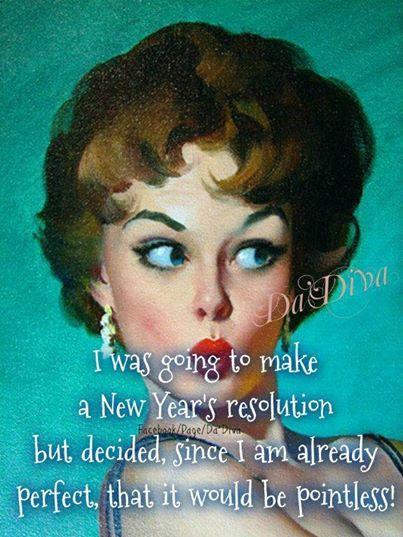 Ma première résolution 2014 (et peut-être la seule...)