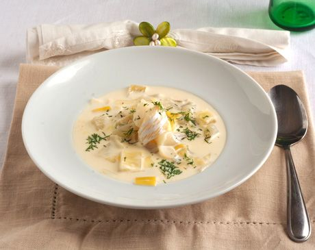 Smoked Haddock Soup Recipe at Epicurious.com