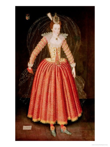 Lucy Harrington, Countess of Bedford, in a Masque Costume Designed by