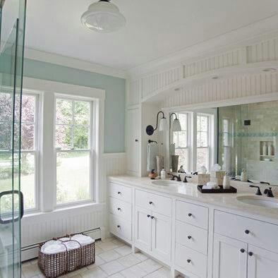 Farmhouse style bathroom for the home pinterest