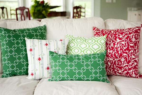 Deck the Halls with Holiday Pllows by Hen House | Hen House Linens