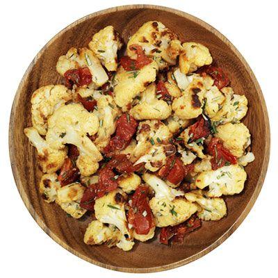 Roasted Cauliflower and Tomatoes | Recipe
