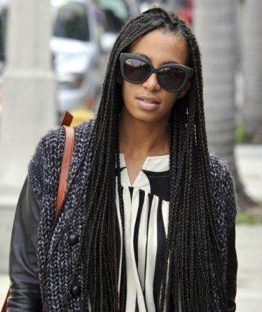 long box braids - solange | Share Your Favorites | Pinterest