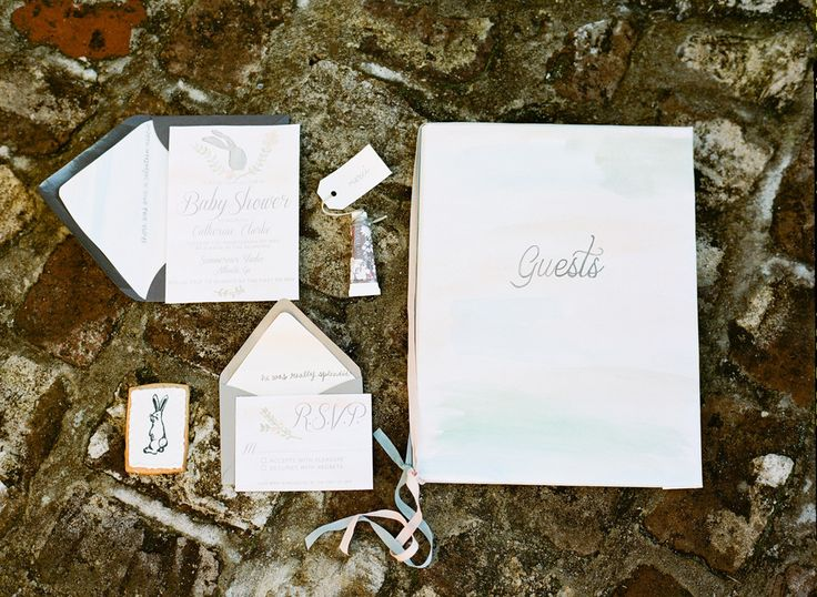 by simply charming socials on velveteen rabbit baby shower pint