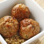 ... turkey recipes. Asian Turkey Meatballs With Lime Sesame Dipping Sauce