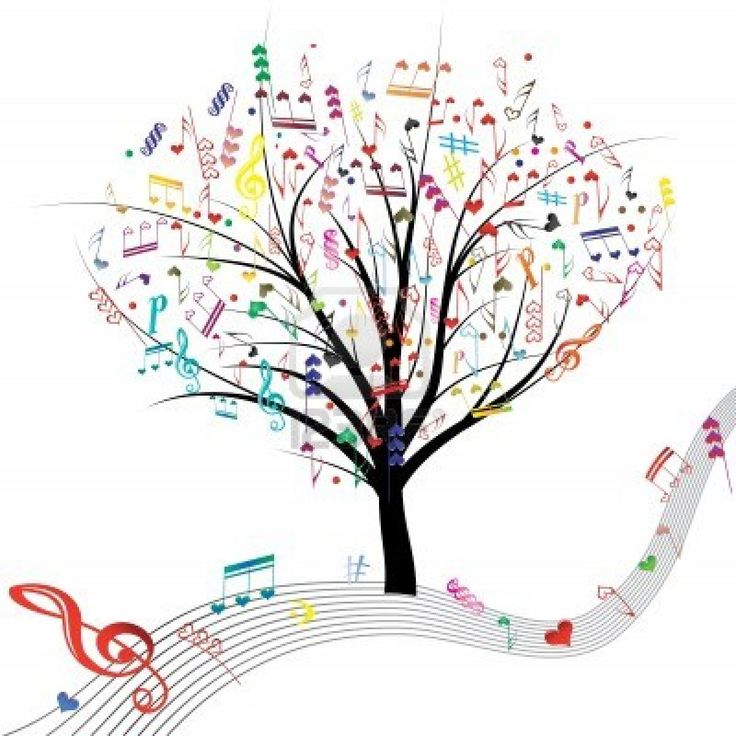 valentine music notes