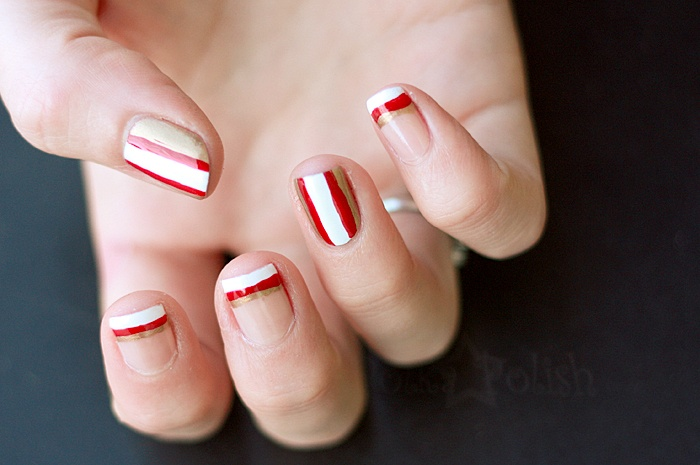 SF 49ers nail art | 49ERS | Pinterest