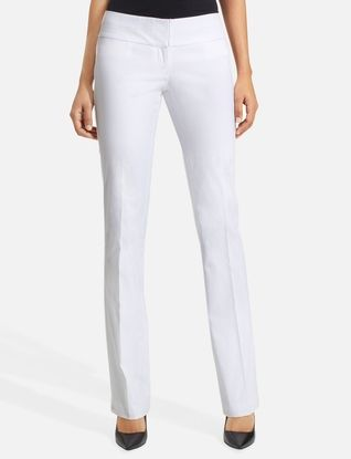 Exact Stretch Double-Waistband Bootcut Pants from THELIMITED.com