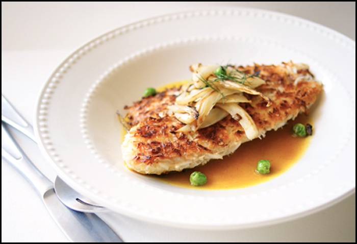... Coconut Crusted Tilapia with Pineapple/Curry sauce | Forks & Sporks