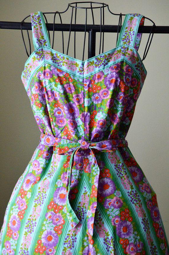 Vintage German Floral Print Dress | My Style