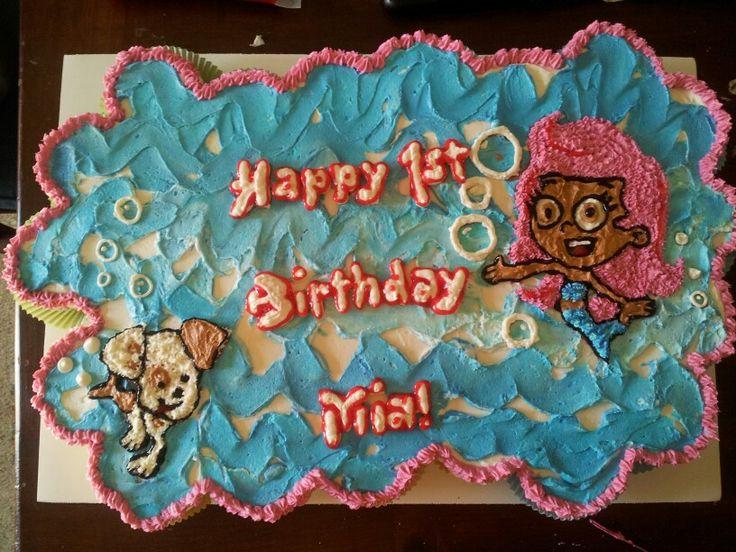 Bubble Guppies Birthday Cake Publix