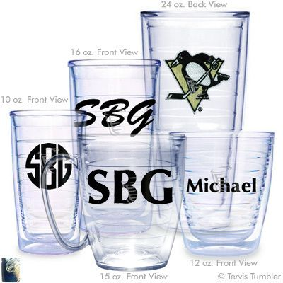 Pittsburgh Penguins Personalized Tumblers