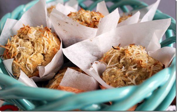 Banana Coconut Lemon Muffins   muffins.breads.oats.scones.   Pinterest