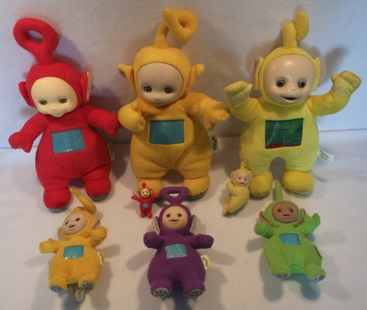 Large lot of Teletubbies plush toys dolls po lala Dipsy tinky winky B