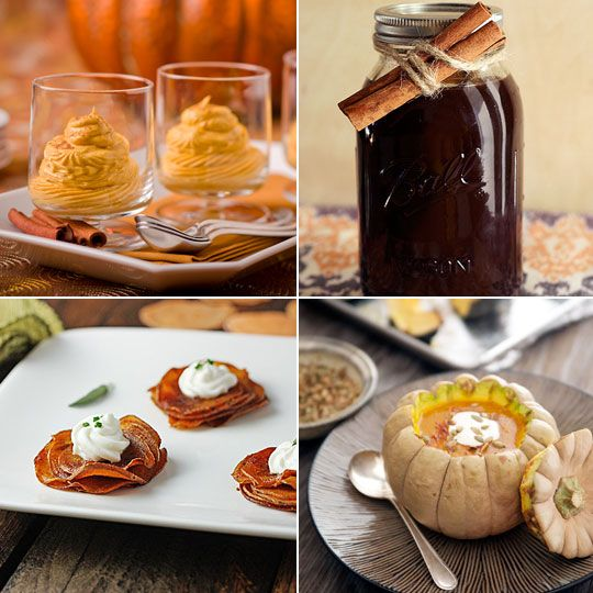Spiced Pumpkin Mousse & Chai Tea Concentrate — Delicious links for ...
