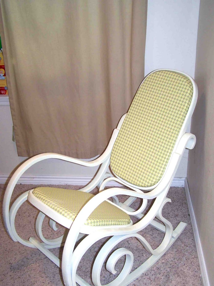 Rocker made by me shared with you nursery decor bentwood rocker