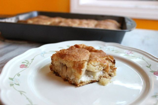 Apple Cream Cheese Coffee Cake | Cakes, Cookies and Brownies | Pinter ...