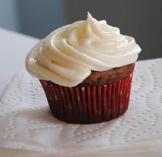 Pumpkin Brownie Cupcakes with Vanilla Butter Cream