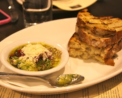 Bread with Pesto, Balsamic & Parmesan Cheese Dip Recipe. Pesto ...