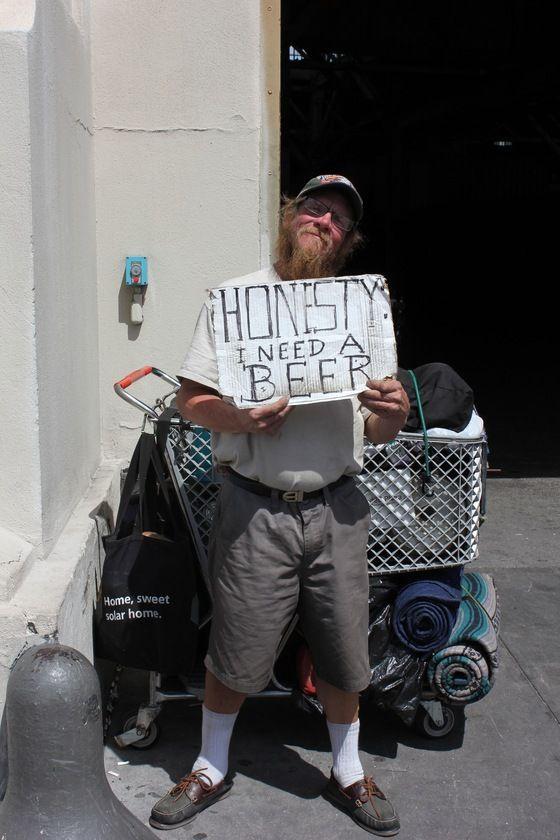 # California - senzatetto di San Francisco ...  con le idee ben Chiare!  - Di dedè74