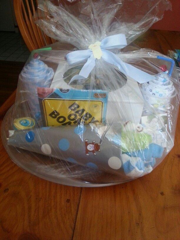 pinterest diy baby shower gift basket
