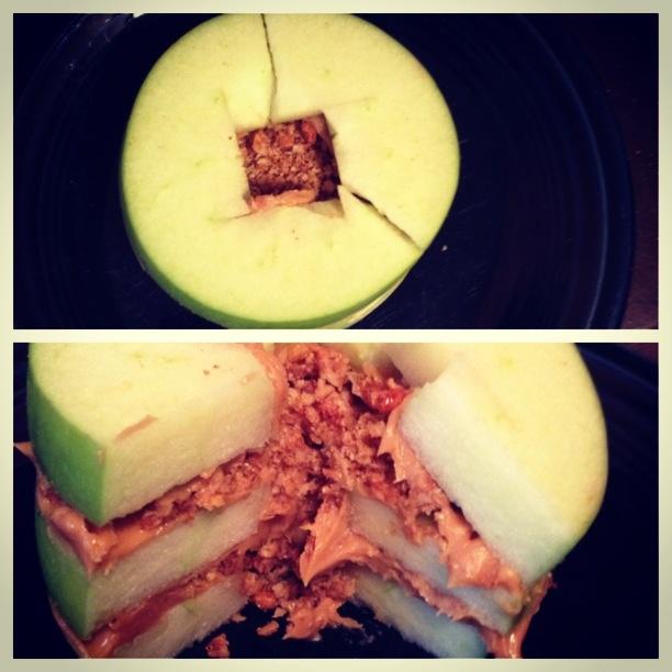 peanut butter granola snack cake recipes dishmaps peanut granola anne ...