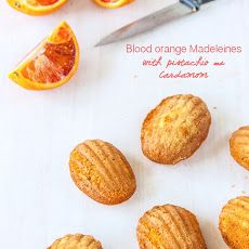... orange cardamom ice cream glazed madeleines orange cardamom madeleines